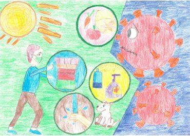 STOP koronavírus -rajzpályázat