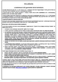 Felhívás - 2021/22-es tanévre vonatkozó beiratkozás